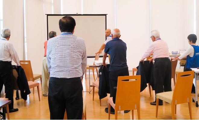 地域密着プロジェクト 健康安全運転講座の実施